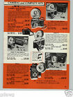 1954 PAPER AD 2 Sided Pho Tak Photak Camera Rollex 20 Cameras Eagle Eye Foldex