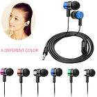 3.5MM Stereo In-Ear Earphone W/Mic Noise Cancelling Earbuds for iPhone iPad PC