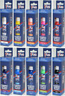 Fabric Spray Paint 10 Assorted Colours Permanent Art Craft T-Shirt Textiles