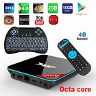 Q+ Plus Octa-Core Bluetooth Fully Loaded Android WiFi TV Box+Wireless Keyboard