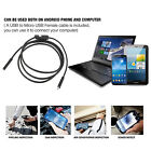 1-5M 6 LED Waterproof Android Endoscope Borescope Snake Inspection Camera video