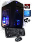 Custom AMD 4.0GHz Gaming Computer Desktop PC System 2TB 16GB 1TB 8GB Win7 New