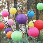 "Wedding Paper Lanterns Party Round Birthday Decoration Pum Tissue Balls 8""-14"""