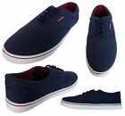 Mens Firetrap Lace Up Canvas Pumps Trainers Casual Sports Shoes Plimsolls New