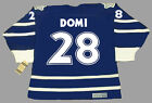 TIE DOMI Toronto Maple Leafs 1997 CCM Vintage Throwback NHL Hockey Jersey