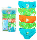 Boys PACK OF 5 George Pig Dinosaur Jungle Slip Briefs Underpants 2 to 6 Years