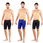 New mens racing jammer swimwear sport sharkskin YG01 Sz  30 32 34 36 38 40