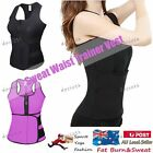 Hot Sweat Sauna Body Shaper Women Slimming Vest Heat Thermo Neoprene Gym Trainer
