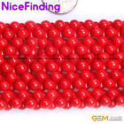"""Graduated White Pink Red Coral Gemstone Beads For Jewelry Making Strand 15"""" DIY"""