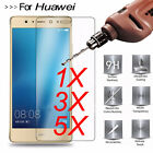 1X 3X 5X 9H Premium Real Tempered Glass Film Screen Protector Cover For Huawei
