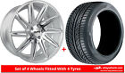 Alloy Wheels & Tyres 18'' Calibre CC-A For Peugeot 308 [Mk2] 13-16