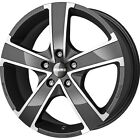 Alloy Wheels 17'' Momo Win Pro Evo Glossy Anthracite Pol For Peugeot 807 02-14