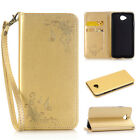 Stylish Best PU Leather Wallet Case Cover for Microsoft Lumia 730/630/640/650