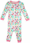 Girls Baby Toddler Floral Bow Pocket Zip Sleepsuit Romper 12 to 36 Months