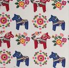 Vintage Printing Pattern Cloth Natural Cotton Linen Fabric Sewing DIY 100X150CM