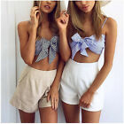 Fashion Casual Womens Pullover T Shirt Backless Cotton Tops Shirt Blouse New Top