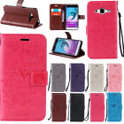 PU Leather Hot Pink Flip Wallet Cover Case for Samsung Galaxy S7 Edge Phone
