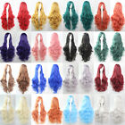 Anime 13 Color High Temperature Synthetic Fiber 80CM Long Curly Hair Wig Cosplay