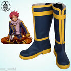 Fairy Tail Etherious • Natsu • Dragneel Cosplay Shoes Anime Accessories