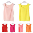 Summer Women Lady Tank Top Suit Loose Vest Sleeveless T-Shirt Casual Tops Blouse