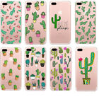 Fashion Cactus Prickly Pear Bonsai Protective Case Cover For iPhone 6s 7 7 Plus