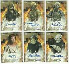 2017 Topps Star Wars Rogue One Series 2 Autograph Card $23.74 CAD