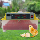 Egg Incubator Fully Automatic Digital LED Turning Chicken Duck Eggs Poultry