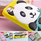 Shockproof Panda dog sheep cute silicone Case cover skin for iPhone 6 6s 7 plus
