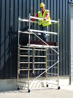 Trade Quick Erect Folding Aluminium Scaffold Tower/Towers 3m-7.2m Next Day Del! <br/> Easy to build hence the name! Best quality - Made in EU