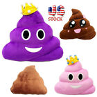Amusing Emoji Emoticon Cushion Heart Eyes Poo Shape Soft Pillow Doll Toy Gift US