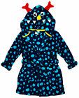 Boys Alien Monster Face Hood Dressing Gown Hooded Bathrobe 5 to 7 Years
