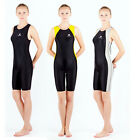 NWT female professional racing training Bodysuit Swimwear One-piece Sz 28-40