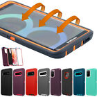 For Samsung Galaxy Note 20 Ultra S20 S10 9 Hard Case Shockproof Heavy Duty Cover