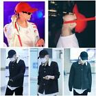 Peace GD Long Strap Ball Cap G-Dragon Black Street Fashion Hat 4 Colours NEW S