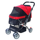 Pet Stroller Cats Travel Portable Carriage Large Space Small Dog General Carrier