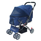 Pet Stroller Cats Travel Portable Carriage Large Space Small Dog
