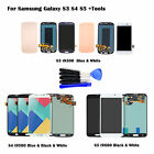 LCD Touch Screen Digitizer For Samsung Galaxy S3 i9300 S4 i9500 S5 i9600 +Tools