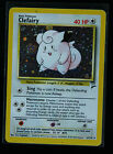 Clefairy Holographic Pokemon Card BASE Set 2  6/130  Near Mint - Never Played