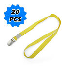20x Neck Lanyard  Mobile Pass KeysCamera Strap Phone ID Card Usb Holder CLEAR!