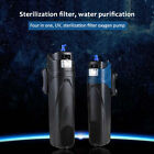 220V-240V UV Sterilizer Submersible Pump Filter Oxygenate for Aquarium Fish Tank