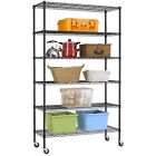 "Commercial 48""L x 18""W x 82"" 6 Tier Shelf Adjustable Wire Metal Shelving Rack 76 фото"