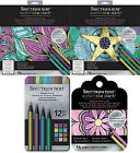 Crafters Companion - Spectrum Noir Metallic Pencils, Colorista Colouring Pads