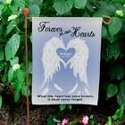 Personalized Memorial Garden Flag Personalized Angel Wings Memorial Yard Flag