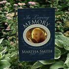 Personalized In Loving Memory Photo Garden Flag Memorial Garden or Cemetery Flag