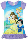 Girls Disney Princess Nighty Stop Dreaming Belle Nightdress 2 to 8 Years