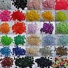 Bulk Assorted multi Resin clothes sewing buttons 11mm 7/16 Scrapbooking flatback