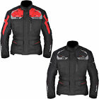 New Oxford Motorcycle Bike Brooklyn Men's Long Waterproof Jacket Size S - 5XL
