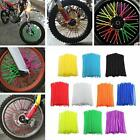 Wheel Rim Spoke Wrap Kit Skin Cover Motocross Dirt Pit Bike Enduro Supermoto -S