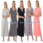Ladies Women Nightdress Nightie Nightshirt Nightwear Long Full s to xxxxxl