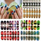6Sheet Mix Fashion Shape 3D Nail Decals Nail Art Manicure French TIPS New B20E